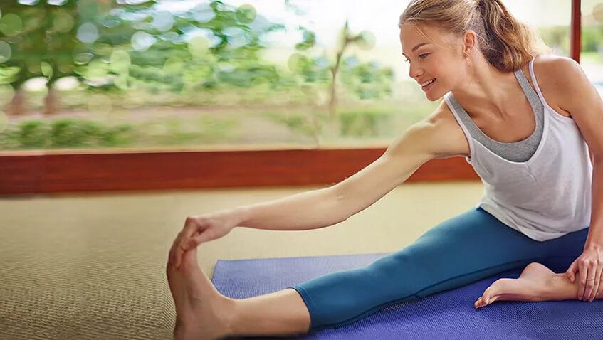 Можно похудеть помощью йоги