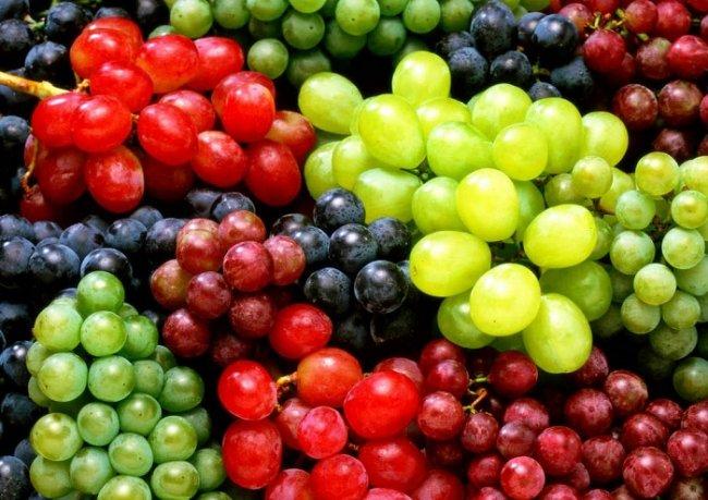 Какие витамины и минералы содержатся в винограде