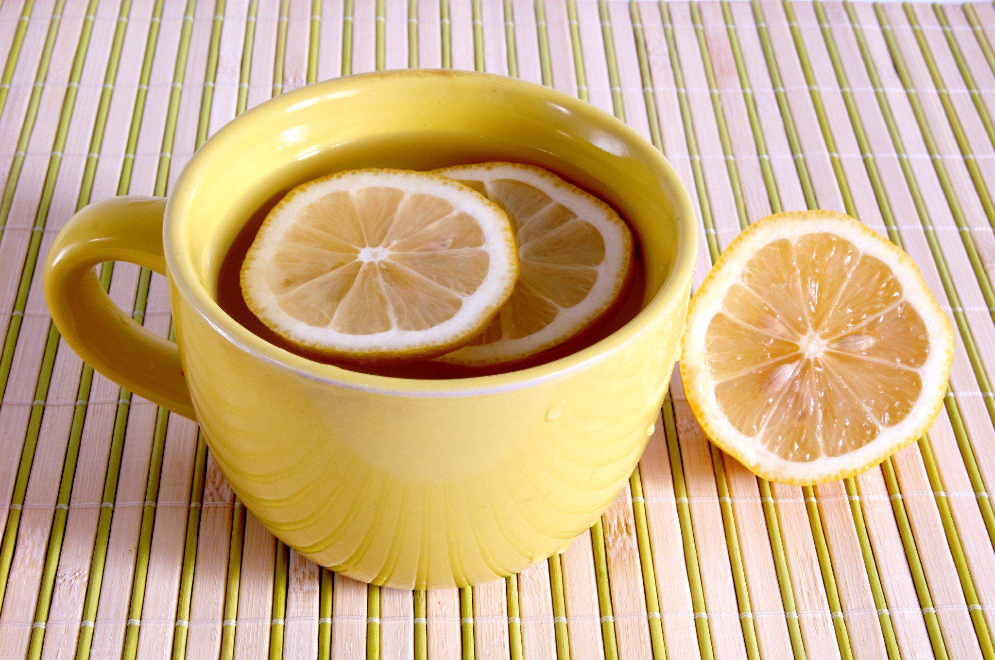 Новый, картинки чая с лимоном