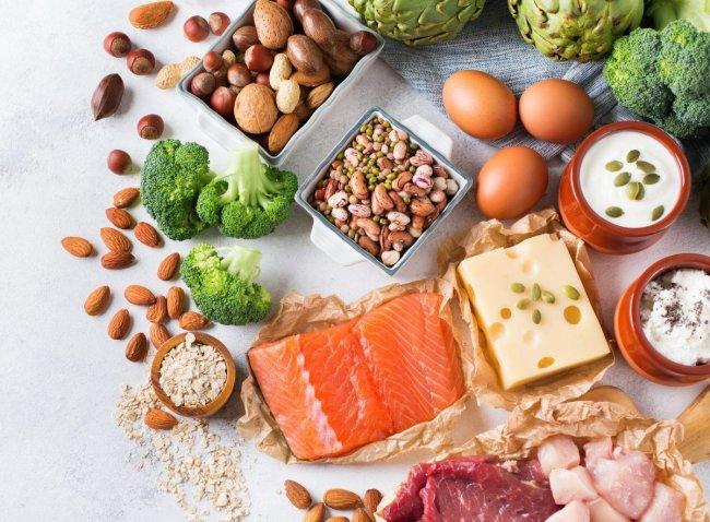 Продукты с высоким содержанием белка для похудения